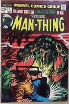 MAN-THING #4 (1974) Marvel Comics VG+ - $9.89