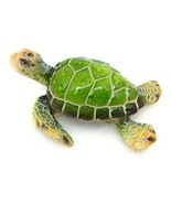 Sea Turtle Figurine Green Ocean Sea Beach Highly Detailed Decor New GSC ... - $7.71