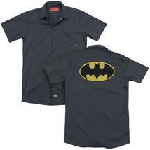 Batman - Classic Bat Logo (Back Print) Adult Work Shirt - $44.99+