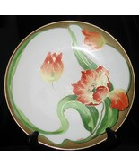 Limoges France Collector Plate Orange Tulips Si... - $110.00