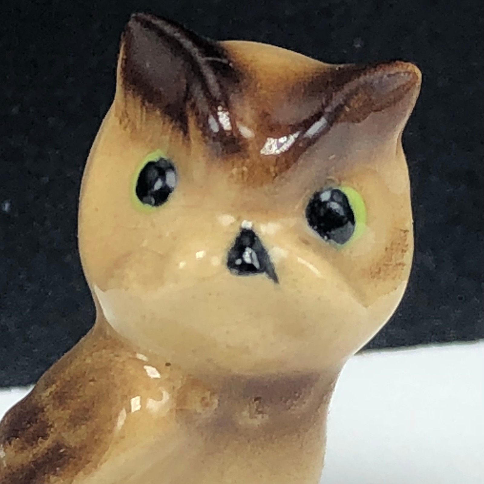 Fine Bone China miniature animal figurine vintage hagen renaker barn horned owl
