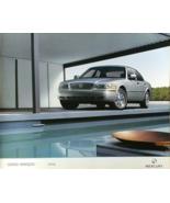 2004 Mercury GRAND MARQUIS sales brochure catalog 1st Edition US 04 LS Limited - $8.00