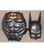 Vintage 1990 DC Comics Batman Kids Costume Hard Mask and Chest Plate - $49.99