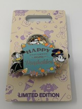 Mickey Minnie Goofy Happy Halloween 2020 LE Annual Passholder Disney Pin - $22.76