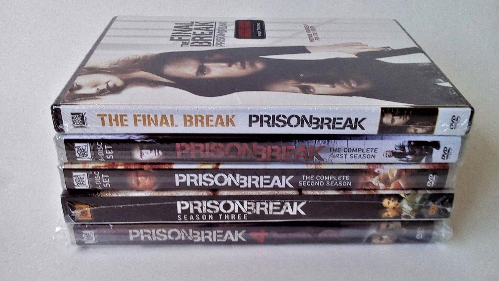 Prison Break Complete Series Seasons 1 2 3 4 & 5 [DVD Sets New]