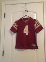 Dalvin Cook NCAA Florida State Seminoles Nike #4 Garnet Jersey Boy's Sz S - $91.08