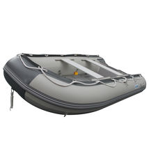 BRIS 9.8ft Inflatable Boat Tender Fishing Raft Dinghy Boat + Free Launch Wheels image 4