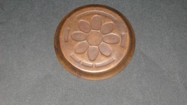 1953 Ohio Copper Sesquicennial dish Coaster. Rare - $5.93