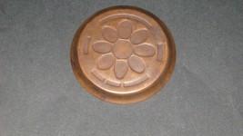 1953 Ohio Copper Sesquicennial dish Coaster. Rare - $5.93