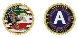 "CAMP ARIFJAN USARCENT CENTCOM ALWAYS READY 1.75""  CHALLENGE COIN - $16.24"