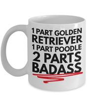 "Goldendoodle Mug ""Funny Goldendoodle Coffee Mug 1 Part Golden Retriever ... - $14.95"