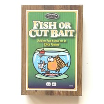 Fish Or Cut Bait Dice Game Front Porch Classics Game Night Sealed - $11.65