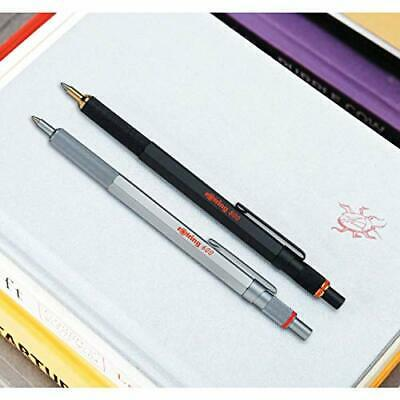 rOtring 800 Retractable Ballpoint Pen Medium Point Black w/Tracking# Japan New image 6