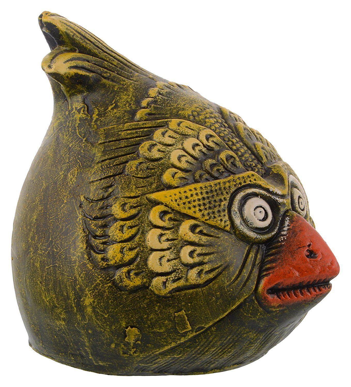 Diy angry bird handmade earthenware piggy bank money for Handmade coin bank