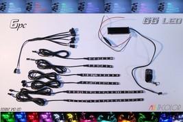 6x Multi-Color LED Motorcycle Lighting Kit - $54.45