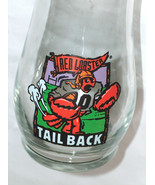 RED LOBSTER Restaurant Football Tail Back Drink Liqueur Beer Glass Pint - $18.86