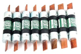 NEW BUSSMANN BUSS NON80 ONE TIME FUSE 250VOLTS NON-80 - LOT OF 8