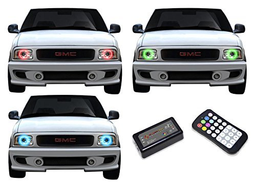 Primary image for FLASHTECH for GMC Sonoma 94-97 V.3 Fusion Color Change RGB Multi Color LED Halo