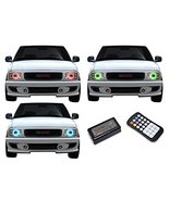 FLASHTECH for GMC Sonoma 94-97 V.3 Fusion Color Change RGB Multi Color L... - $213.64