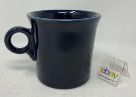 Fiesta Cobalt Blue Ring Handle Coffee Mug / Cup - Nice! - $5.99