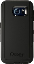 OtterBox 77-51154 Defender Series Phone Case Samsung Galaxy S6 Black AUT... - $15.99