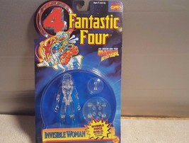 Marvel Fantastic Four Invisible Woman Animated Series ToyBiz 1995 New - $3.96