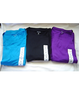 Women's Size 2X, 3X Knit  Crew Neck Shirt  Short Sleeves Tops NWT Lot of 3 - $34.99