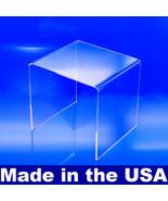 Acrylic Display Risers, MADE IN USA, 2x2x2 to 8x8x8 - $25.49+