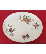 """Royal Worcester Evesham Gold Pattern Oval Platter 15 x 12"""" Unused - $50.00"""