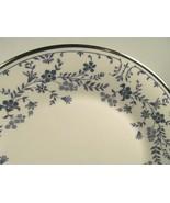 7 Royal Doulton Sapphire Blossom Dinner plates bundle of 7 EUC - $90.16