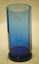 Essex Cobalt Blue Anchor Hocking Ice Tea Glass 16 oz. Octagonal Paneled - $24.74