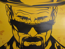 Breaking Bad Poster AMC Television Series Tie In Mancave Display Drug De... - $22.51