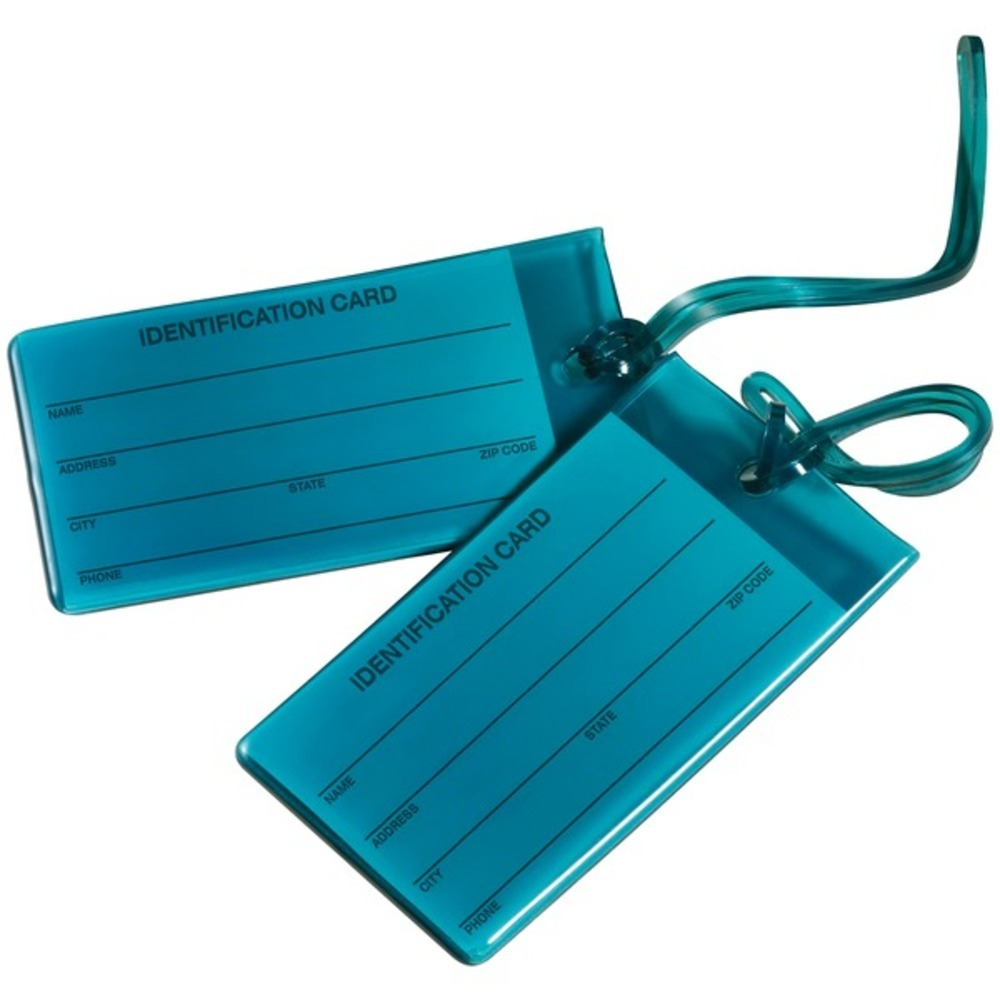 Primary image for Travel Smart TS03TEAL6 Jelly Luggage Tags, 2 pk