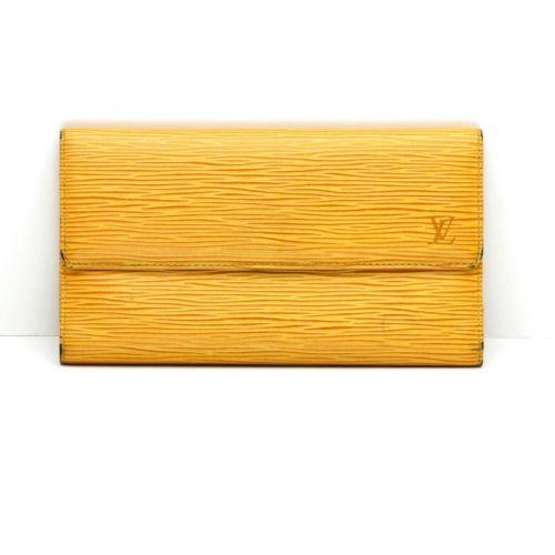 09b8b6058b70 12. 12. Previous. Louis Vuitton Long Bifold Wallet in Mustard Yellow Epi  Leather · Louis Vuitton Long Bifold ...