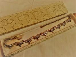 """17"""" Coro Gold tone Necklace Choker Classic Design Very Clean Segments - $28.45"""