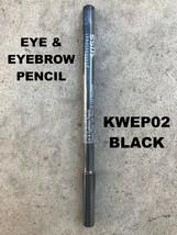 KISS NEW YORK PROFESSIONAL EYE & EYEBROW PENCIL # KWEP02 BLACK - $2.76