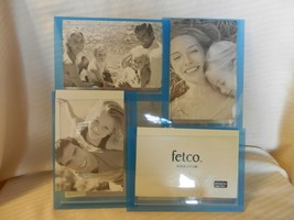Blue Acrylic Photo Collage Frame Holds 4 Photos from Fetco Home Decor - $37.13