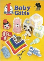 One 1 Hour Baby Gifts to Crochet Annies Attic 87G82 Vintage 1998 Booties Toys - $5.99