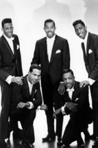 The Temptations Studio Pose In Tuxedo Classic Group 18x24 Poster - $23.99