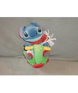 Disney Lilo & Stitch Stitch Bean Bag Plush Rollie Scooter Scarf Rolling ... - $25.24