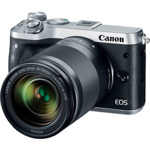Canon EOS M6 Mirrorless Digital Camera with 18-150mm Lens (Silver) 1725C021 - $679.00