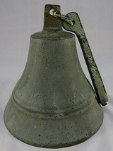"Vintage Wall Mount 5"" tall Brass Metal Old Bell - $35.00"