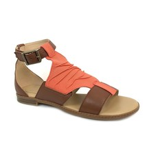 Timberland Women's Cherrybrook Light Red Leather Sandals A25CQ - $59.99