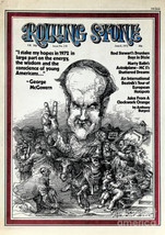 Rolling Stone Cover - Volume #110 - 6/8/1972 - George Mcgovern Poster Pr... - $19.95+