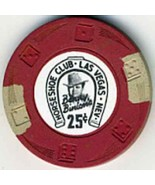 $.25 HORSESHOE CLUB Benny Binion LAS VEGAS Casino Poker Chip Dice & Whirl - $23.95