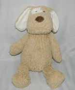 Manhattan Toy Company Adorable REX Dog 2016 Tan Brown Beige Ribbed Plush... - $39.59