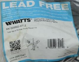 Watts RK 009M2-RT 2 Total Valve Rubber Parts Repair Kit Lead Free image 2