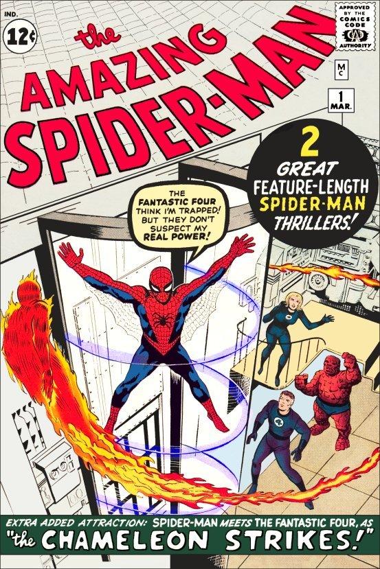 Comic   the amazing spiderman  1