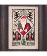 FULL KIT 2007 Santa Limited Edition cross stitch kit Prairie Schooler  - $23.50