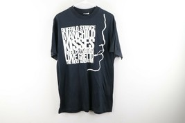Vtg 80s Mens L Nieneh Cherry Raw Like Sushi Tour Hip Hop Double Sided T-Shirt - £217.31 GBP